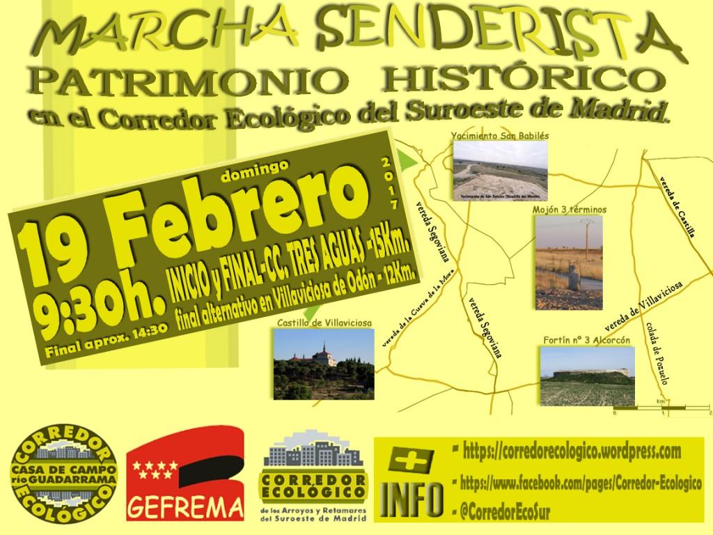 marcha senderista patrimonio histórico